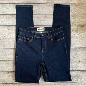 Roots Dark Wash Skinny Jeans